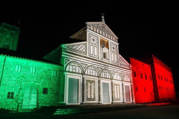 La basilique de Florence à l'heure du confinement