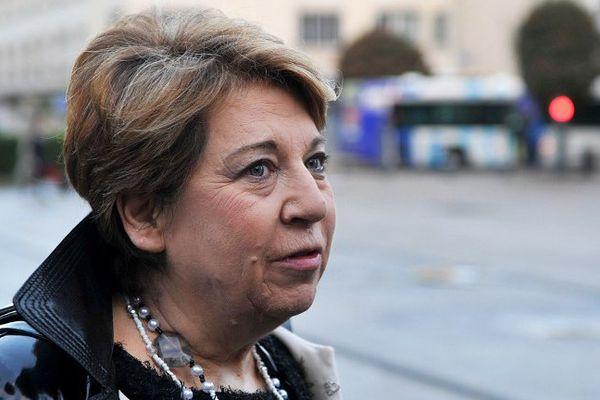 Corinne Lepage, avocate des parties civiles au procès Xynthia en appel à Poitiers.