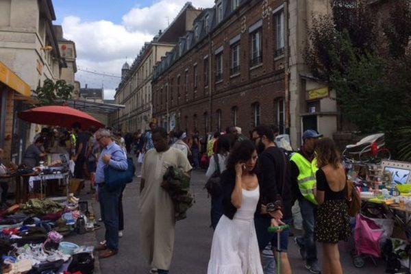 La friche des Grands-Voisins, dans le 14ème arrondissement de Paris.