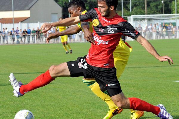 Guigamp a dominé Nantes en août lors d'un match amical.