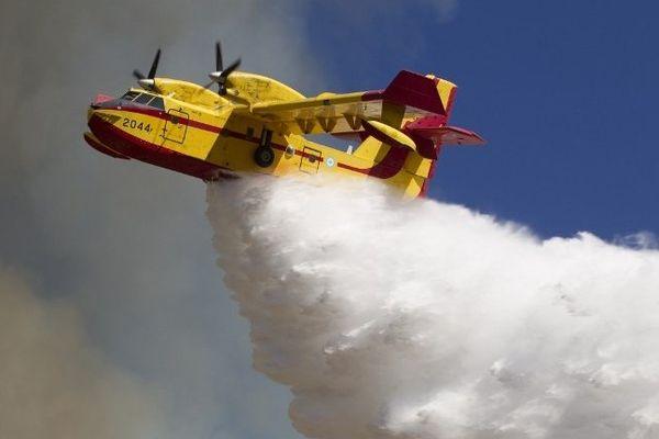 ILLUSTRATION- Le Sdis de Haute-Corse a mobilisé d'importants moyens pour éviter que les incendies ne se propagent.