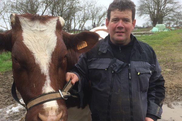 Anthony Gervais ira au Salon avec Hirondelle pour y défendre son élevage de Rouges des Prés
