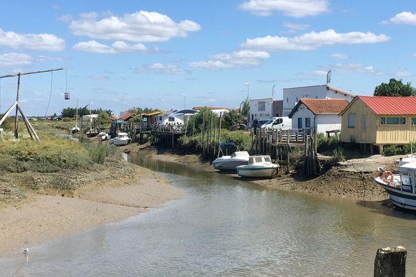 Le port de Mornac-sur-Seudre (Charente-Maritime)