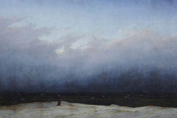 Le moine au bord de la mer - Caspar Friedrich