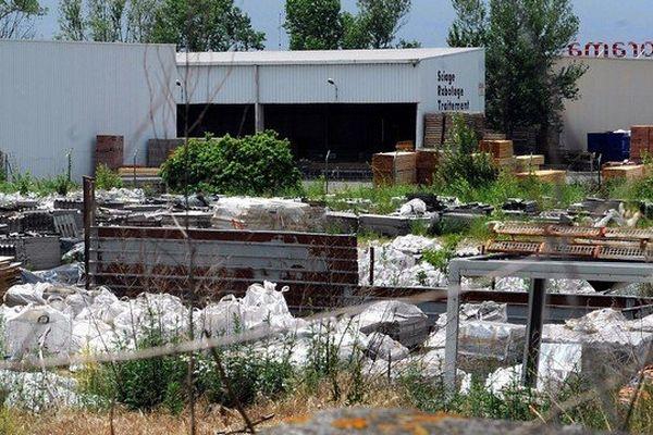 le site de gerlero à Saint-Alban en haute-Garonne en mai 2011