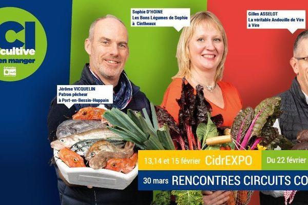 Sophie d'Hoine a prêté son image pour la campagne sur le bien manger du département du Calvados