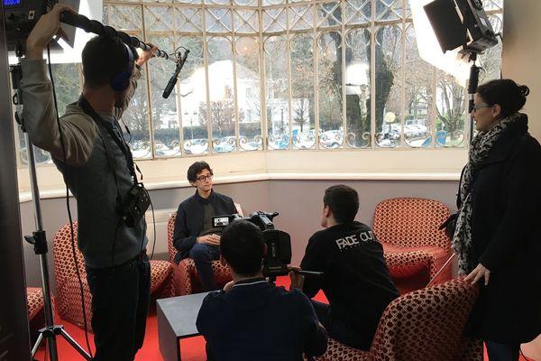 Des étudiants et des vidéastes fabriquent une fiction pour le festival de Luchon