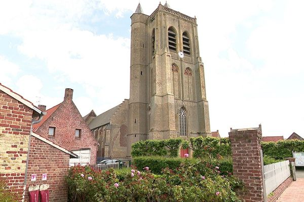 L'Hallerkerque(église-halle) Saint-Sylvestre de Rubrouck