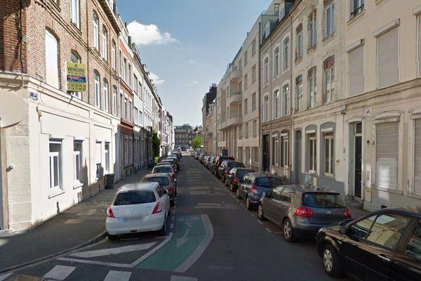Le corps de la jeune femme de 20 ans a été découvert dans un appartement de la rue Colbrant à Lille