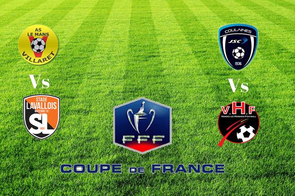 Le Mans Villaret et JS Coulaines au 5e tour de la coupe de France