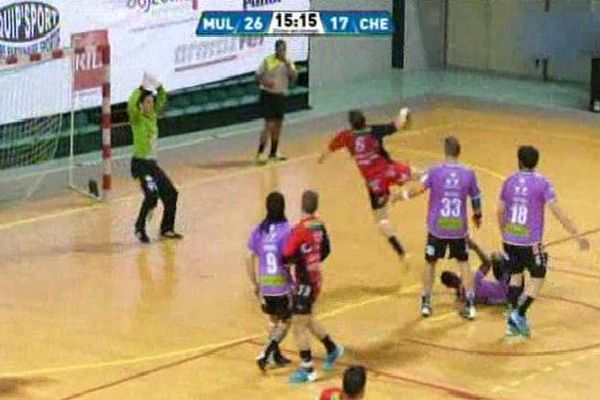 Match de handball Mulhouse-Caen