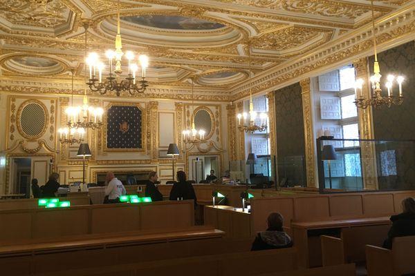 La salle d'audience de la Cour d'Assises d'Ille-et-Vilaine