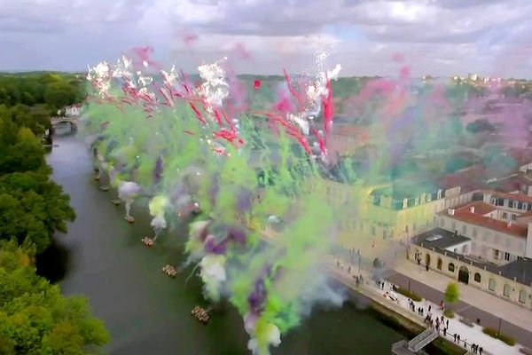 Pyrotechnie Hennessy par Cai Guo-Qiang (25/09/2020) Cognac