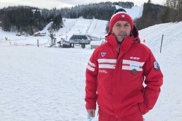 Stéphane Brisbart, directeur de l'ESF Metabief