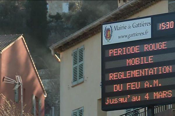 Un arrêté en date du 8 février instaure une période rouge dans l'emploi du feu sur l'ensemble du département des Alpes-Maritimes.