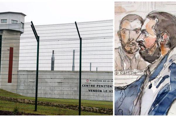 Smaïn Aït Ali Belkacem avait été transféré à Vendin-le-Vieil il y a une semaine.