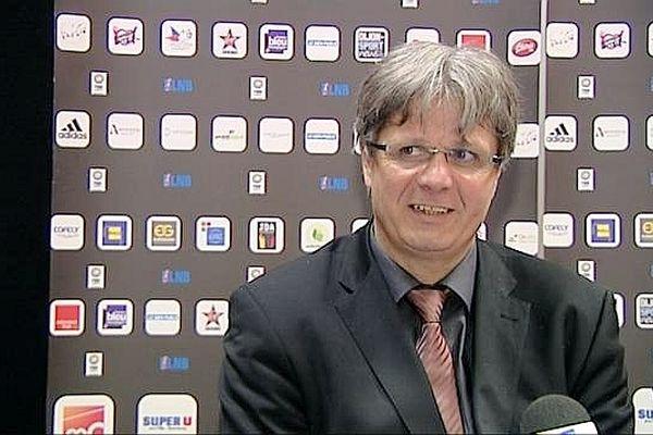 Jean-Louis Borg, l'entraîneur de la JDA Dijon