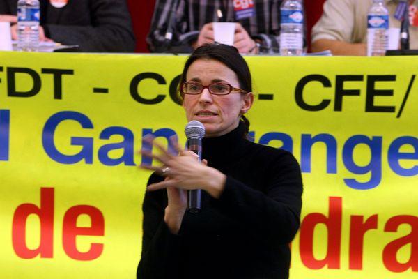 Aurélie Filippetti affirme s'être engagée aux côtés des sidérurgistes dès l'annonce de la fermeture de l'aciérie de Gandrange.