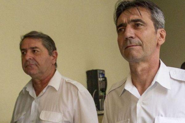 Bruno Odos et Pascal Fauret en octobre 2015.