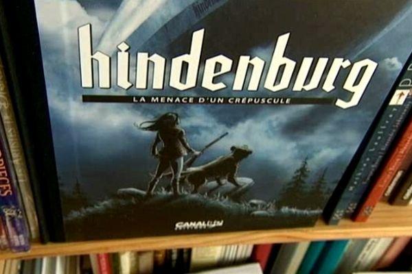 Hindenburg, dernière bande dessinée de Tieko