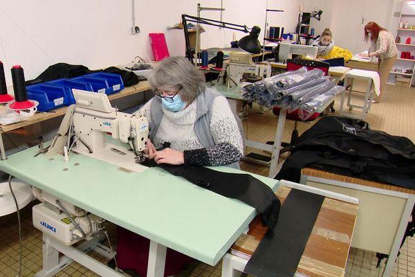 Atelier de production de l'entreprise Armoribreizh à Aumale (Seine-Maritime)