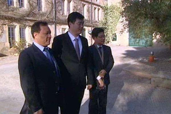 Escales (Aude) - les Chinois investissent dans les vignes de l'Aude - 21 janvier 2015.
