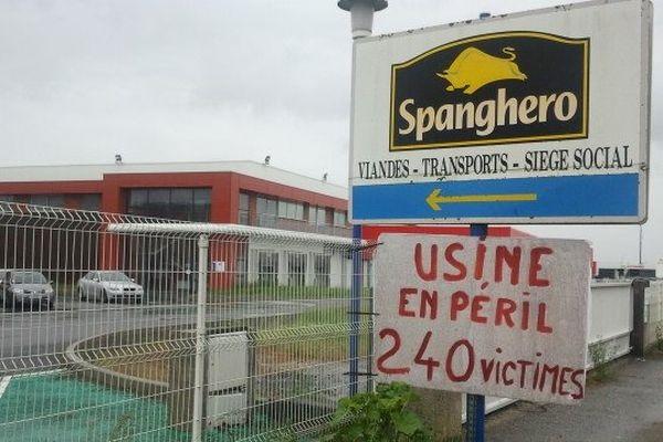 Castelnaudary (Aude) - Spanghero en péril - mai 2013