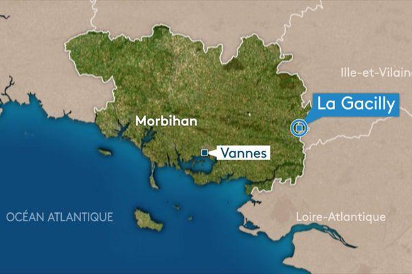 L'accident s'est déroulé à La Gacilly dans le Morbihan.