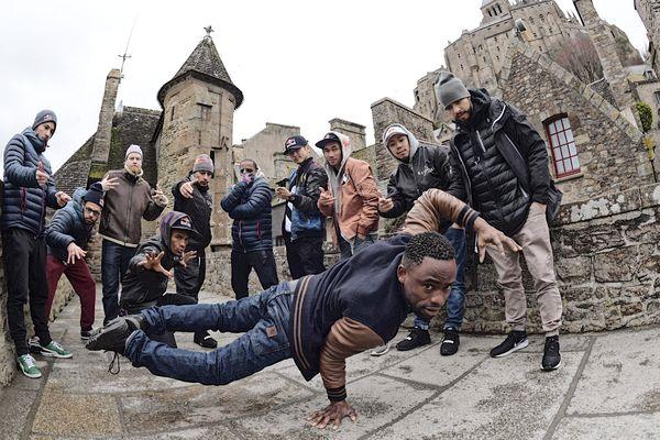 Les danseurs hip-hop investissent le Mont Saint-Michel