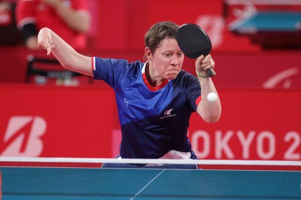 La pongiste Lyonnaise Anne Barnéoud décrochera une médaille aux Jeux Paralympiques de Tokyo...Reste à savoir la couleur du métal...