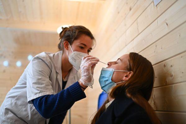 Le nombre de personnes a vouloir se faire tester par un test antigénique est en forte augmentation