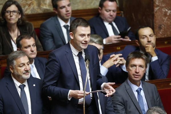 Le député LR Ian Boucard à l'Assemblée Nationale