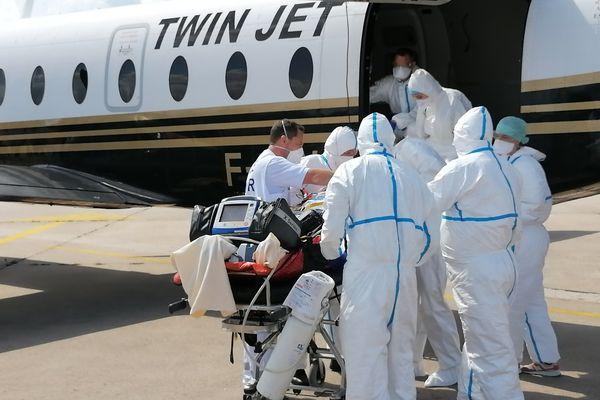 Trois patients en réanimation de la région Occitanie ont été évacués vers la Moselle vendredi 13 août.