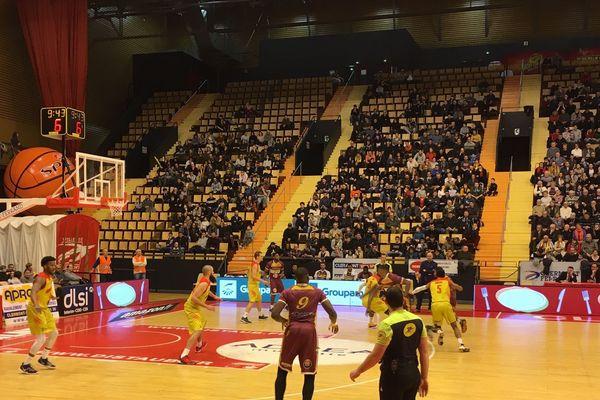 Orléans s'est imposé 97 à 96 face à Clermont Vichy Métropole le 25 janvier, à la Maison des Sports de Clermont-Ferrand.