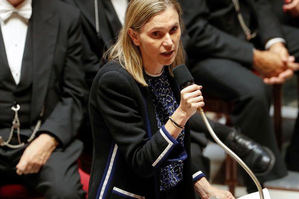 La secrétaire d'Etat à l'Economie, Agnès Pannier-Runacher, lors d'une session de questions au gouvernement en octobre 2018