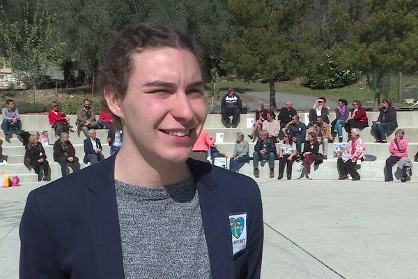 Florian Dumont veut s'engager en faveur de la jeunesse et de l'écologie.