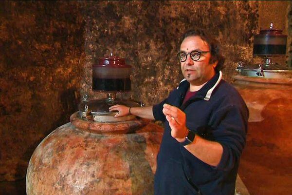 Sébastien David est vigneron bio depuis 1999.