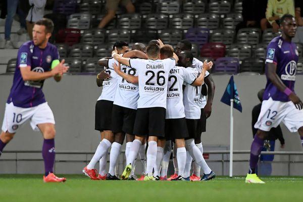 Le Stade Malherbe de Caen s'est imposé sur le score de trois buts à deux à Toulouse ce lundi soir