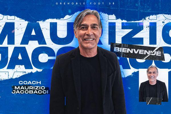 GFC38 / Maurizio Jacobacci nouvel entraîneur du Grenoble Foot 38