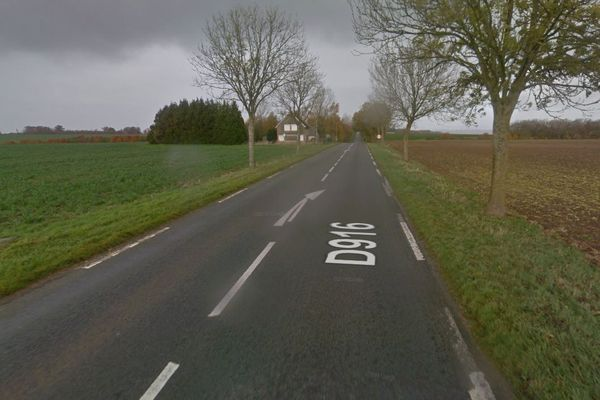 L'accident mortel a eu lieu rue de Doullens à Frévent (62).