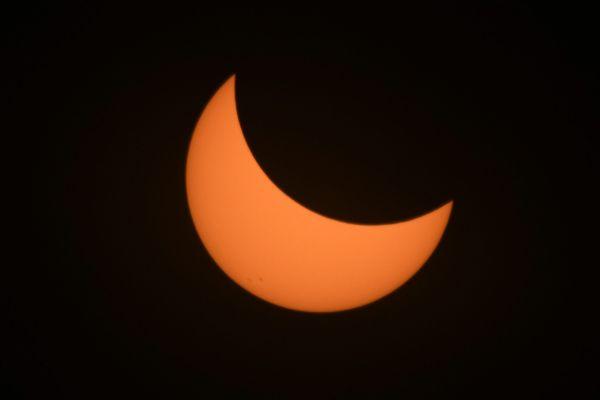 L'éclipse solaire du 21 août dans l'Oregon. Les États-Unis n'avaient pas vécu un tel phénomène depuis 99 ans.