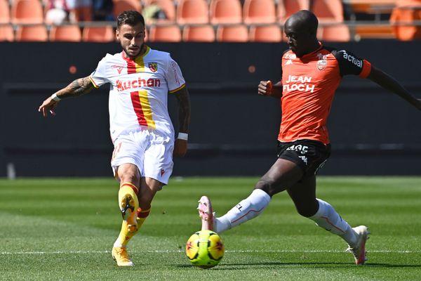 Jonathan Clauss face à Lorient, le 13 septembre en Ligue 1.