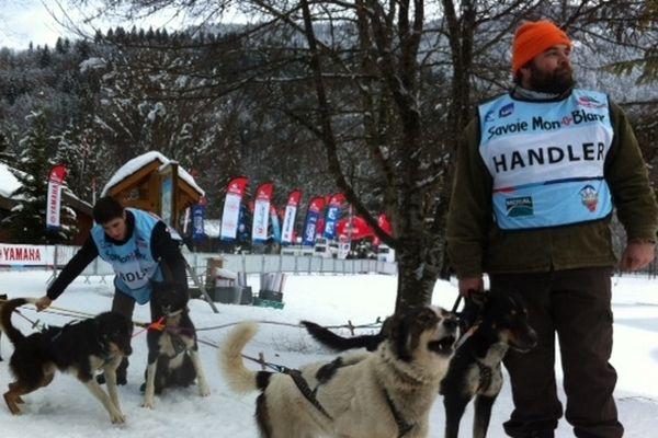 Les meneurs de chiens viennent du monde entier pour assister à la grande course haut-savoyarde