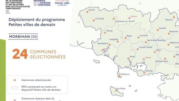""""""" Petites villes de demain """" Morbihan"""