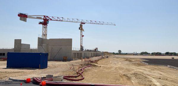 Le futur centre de formation, trois fois plus grand.