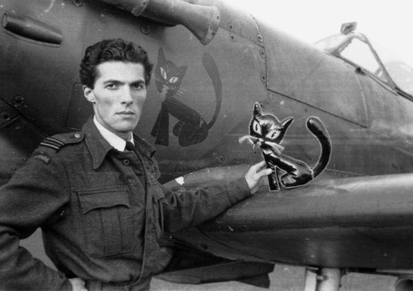 François de Labouchère à Turnhouse, en Ecosse, le 12 février 1942.