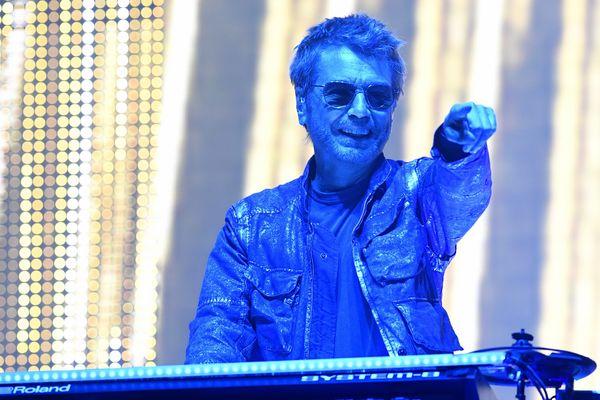 Jean-Michel Jarre était l'une des têtes d'affiche du festival de Poupet 2017