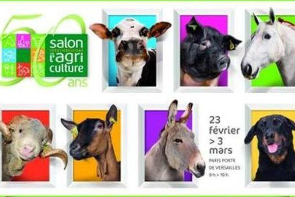 Floca reste le seul et unique chien à avoir fait la une d'une affiche au Salon de l'Agriculture.