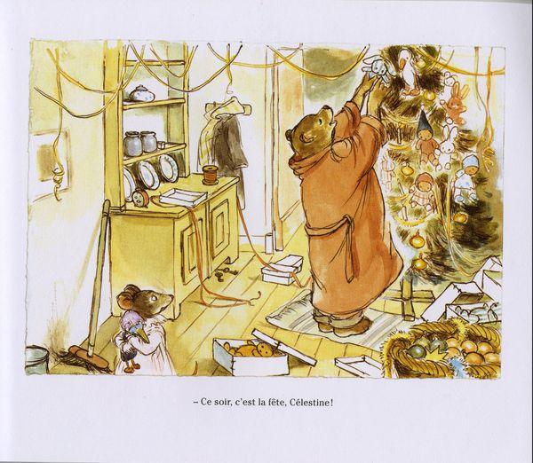 Ernest prépare une surprise à Célestine