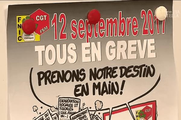 Les opposants aux ordonnances sur le droit du travail dans la rue mardi 12 septembre